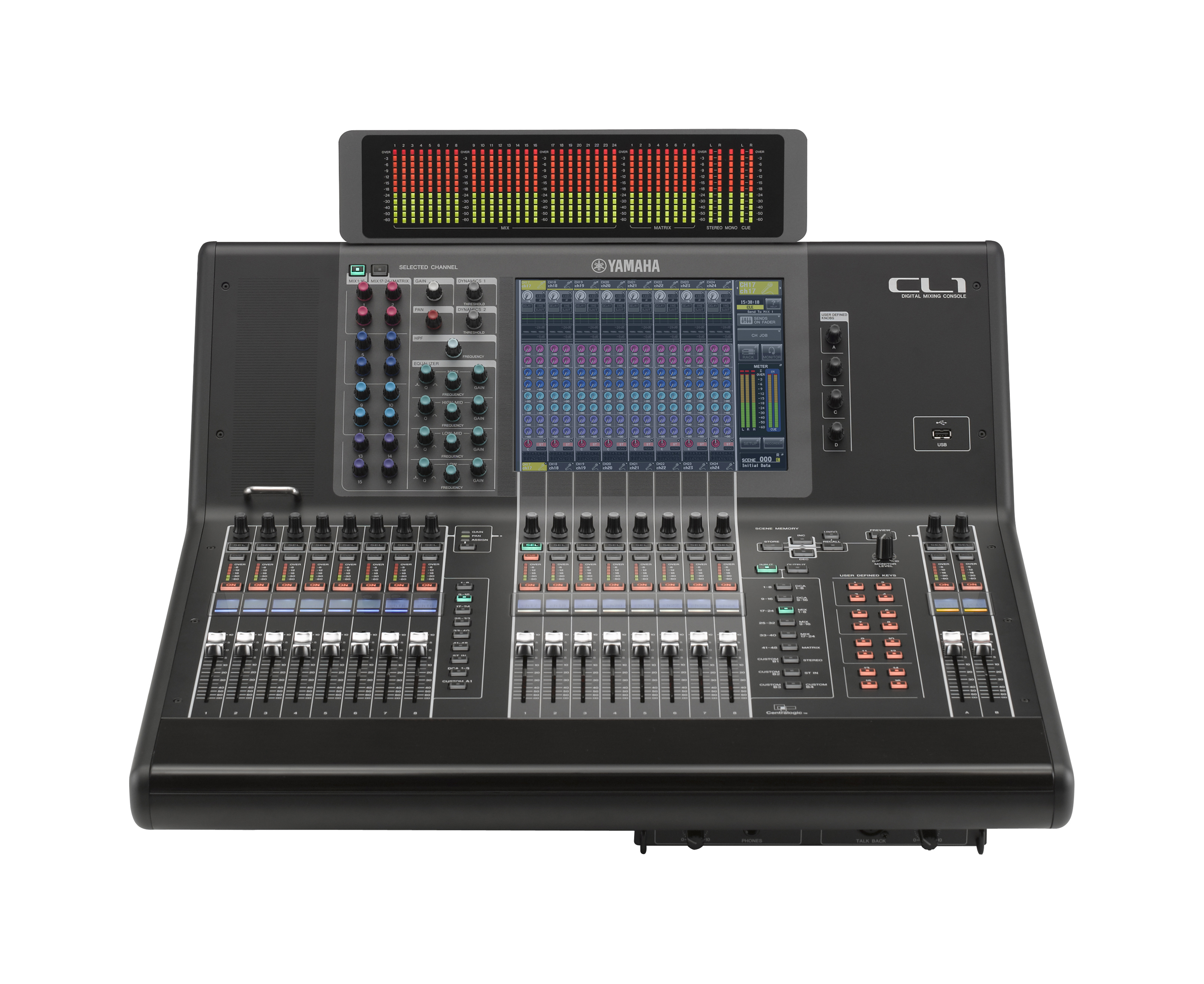 yamaha cl1 digital sound mixer with free meter bridge and same day shipping ebay. Black Bedroom Furniture Sets. Home Design Ideas